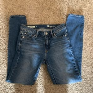 Gap Authentic True Skinny Ankle Jeans